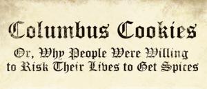 Columbus Cookies
