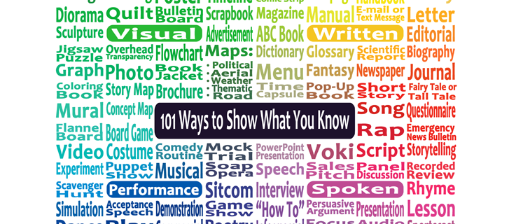 101 Creative Ways to Show What You Know