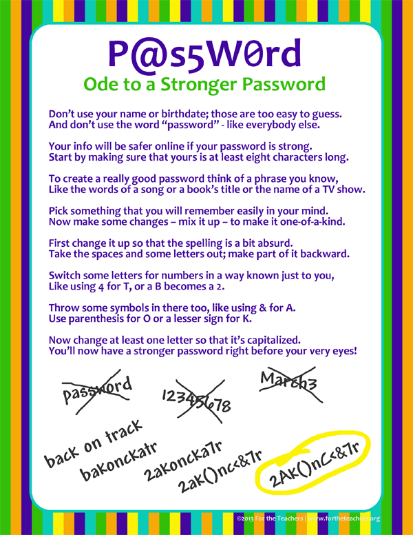 Ode to a Stronger Password