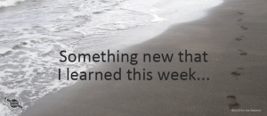 Writing Prompt for August 21: Something Learned