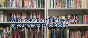 Writing Prompt for September 12: The Way to School