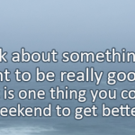 Writing Prompt for October 20: Getting Better