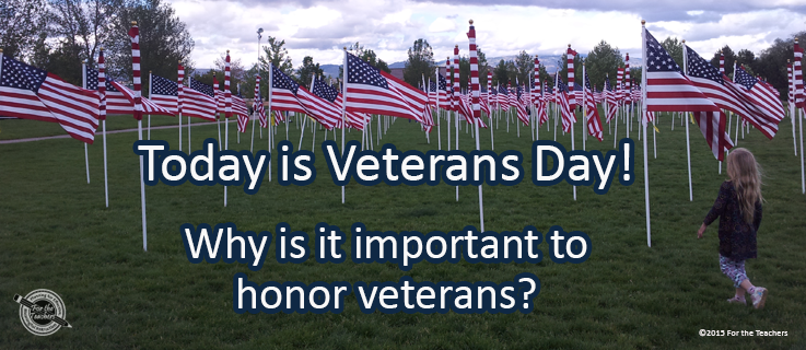 Writing Prompt for November 11: Veterans Day