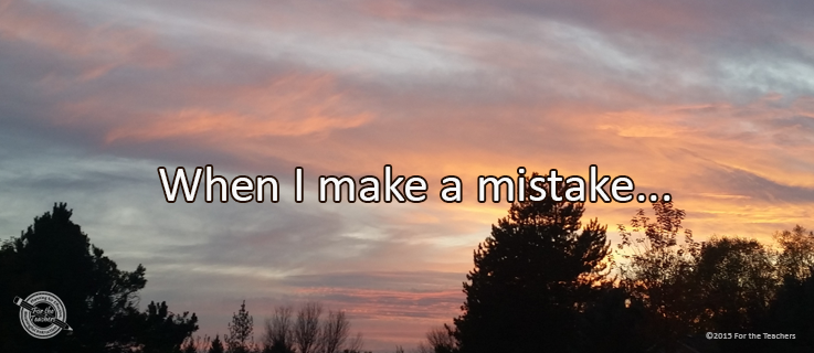 Writing Prompt for November 16: Mistakes