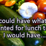 Writing Prompt for December 6: Lunch
