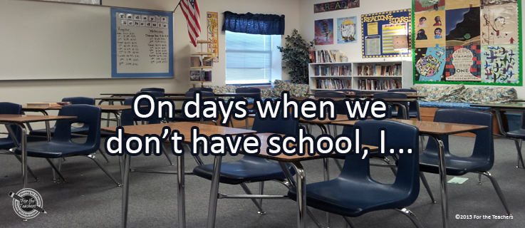 Writing Prompt for December 18: Days Off School