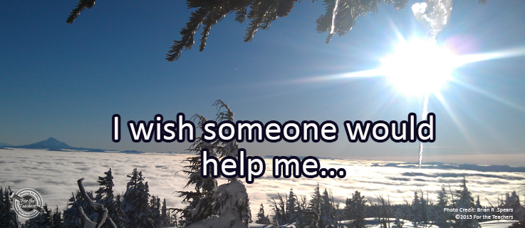 Writing Prompt for December 6: Help