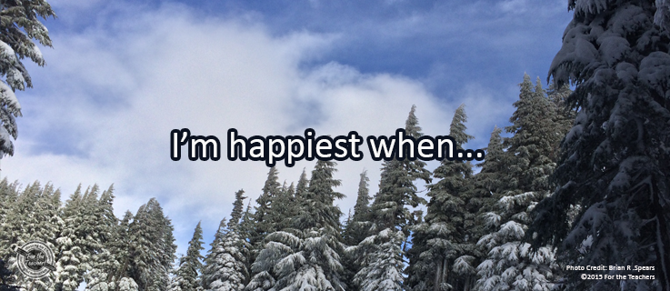 Writing Prompt for December 13: Happy