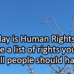 Writing Prompt for January 15: Rights