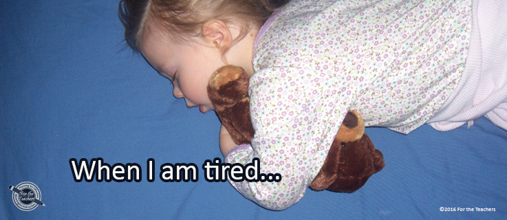 Writing Prompt for February 7: Tired