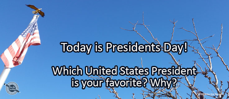 Writing Prompt for February 20: Presidents' Day