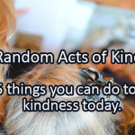 Writing Prompt for February 17: Kindness