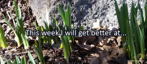 Writing Prompt for March 20: Getting Better