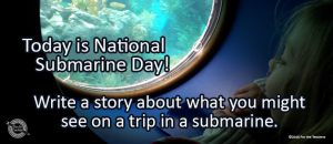 Writing Prompt for April 11: Submarine
