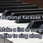 Writing Prompt for April 25: Karaoke