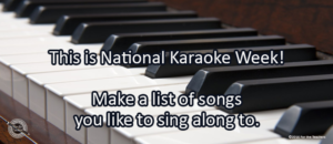 Writing Prompt for April 25: Karaoke