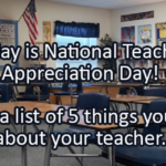 Writing Prompt for May 3: Teachers!