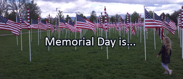 Writing Prompt for May 28: Memorial Day