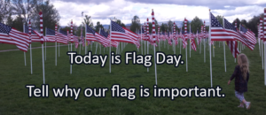 Writing Prompt for June 14: Flag Day