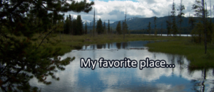 Writing Prompt for June 4: Favorite Place