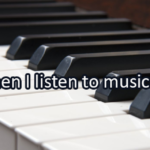 Writing Prompt for May 25: Music