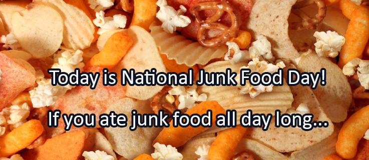 Writing Prompt for July 21: Junk Food