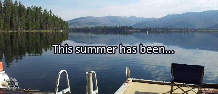 Writing Prompt for August 29: Summer End