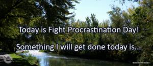 Writing Prompt for September 6: Procrastination
