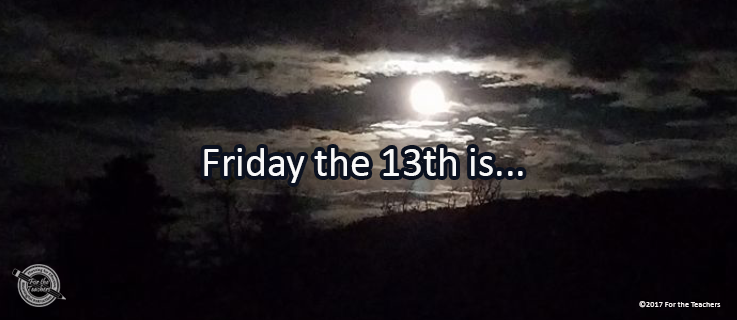 Writing Prompt for April 13: Friday the 13th