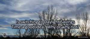 Writing Prompt for March 9: Daylight Savings