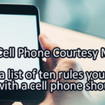 Writing Prompt for July 19: Cell Phones