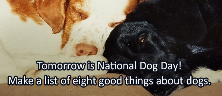 Writing Prompt for August 25: Dog Day
