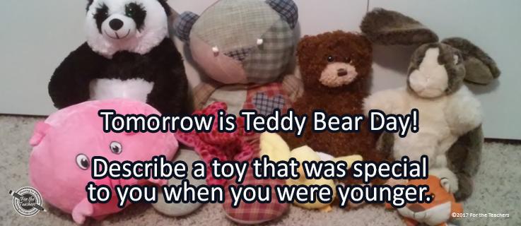 Writing Prompt for September 8: Teddy Bear