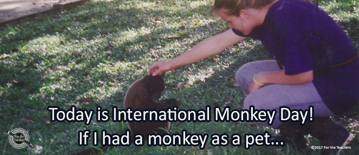 Writing Prompt for December 14: Monkeys