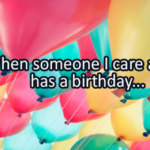 Writing Prompt for March 21: Someone's Birthday