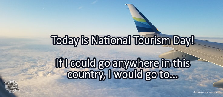 Writing Prompt for May 7: Tourism